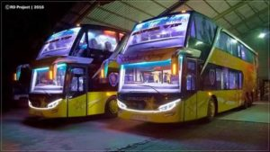 bus aceh double decker