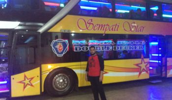 bus aceh sempati star double decker