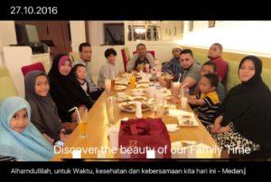 karina osman dan keluarga medan