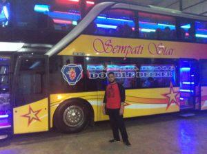 bus aceh sempati star double decker
