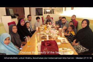 karina osman dan family medan